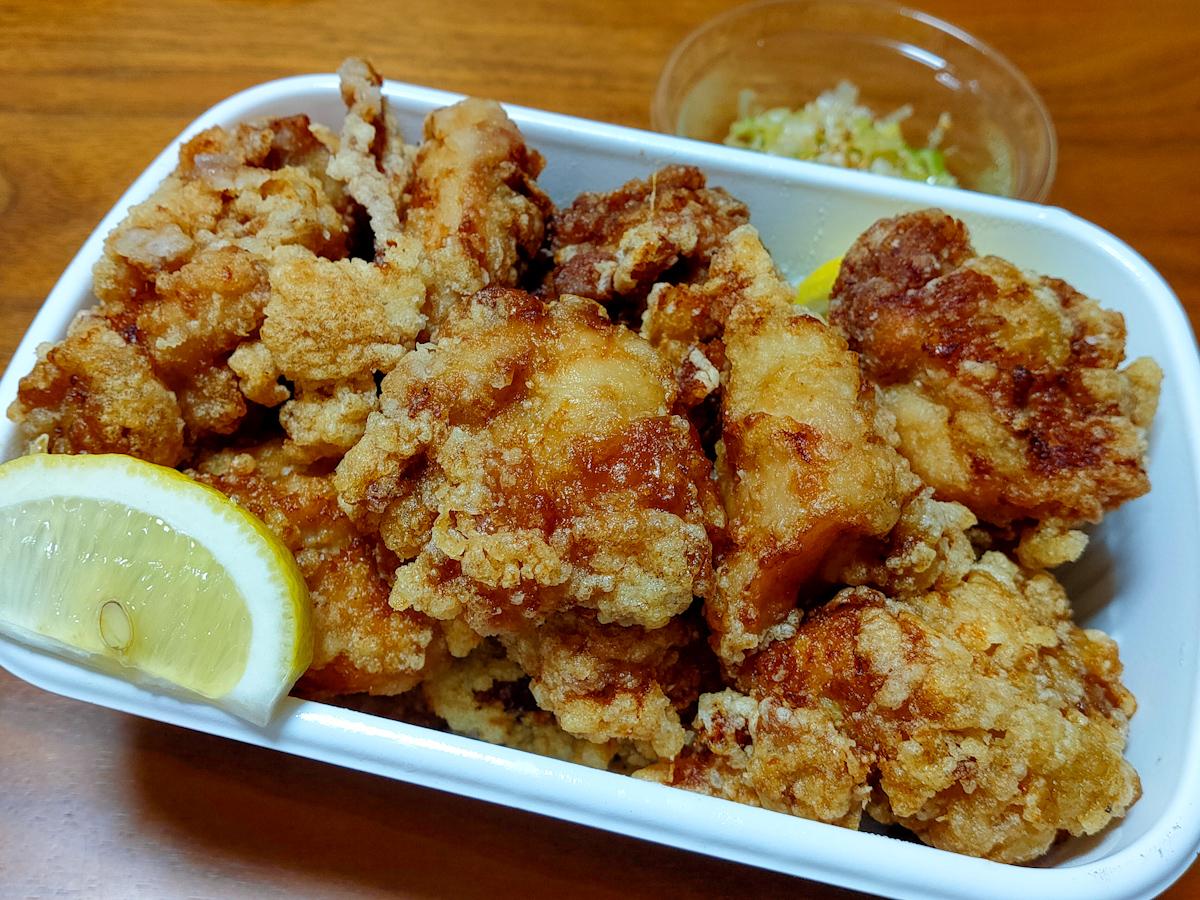 【テイクアウト】与野本町の弁当屋「パックマン」が夕方営業を開始 お昼も人気の「からあげ」をお持ち帰り