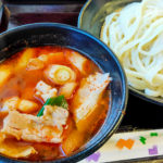 旨辛つけ汁がヤミツキになる『武蔵野うどん 藤原 北与野本店』を食べてきた