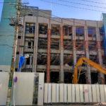 【解体】「パラマウントベッド さいたま支店」ビル 2021年8月31日(火)まで解体工事予定