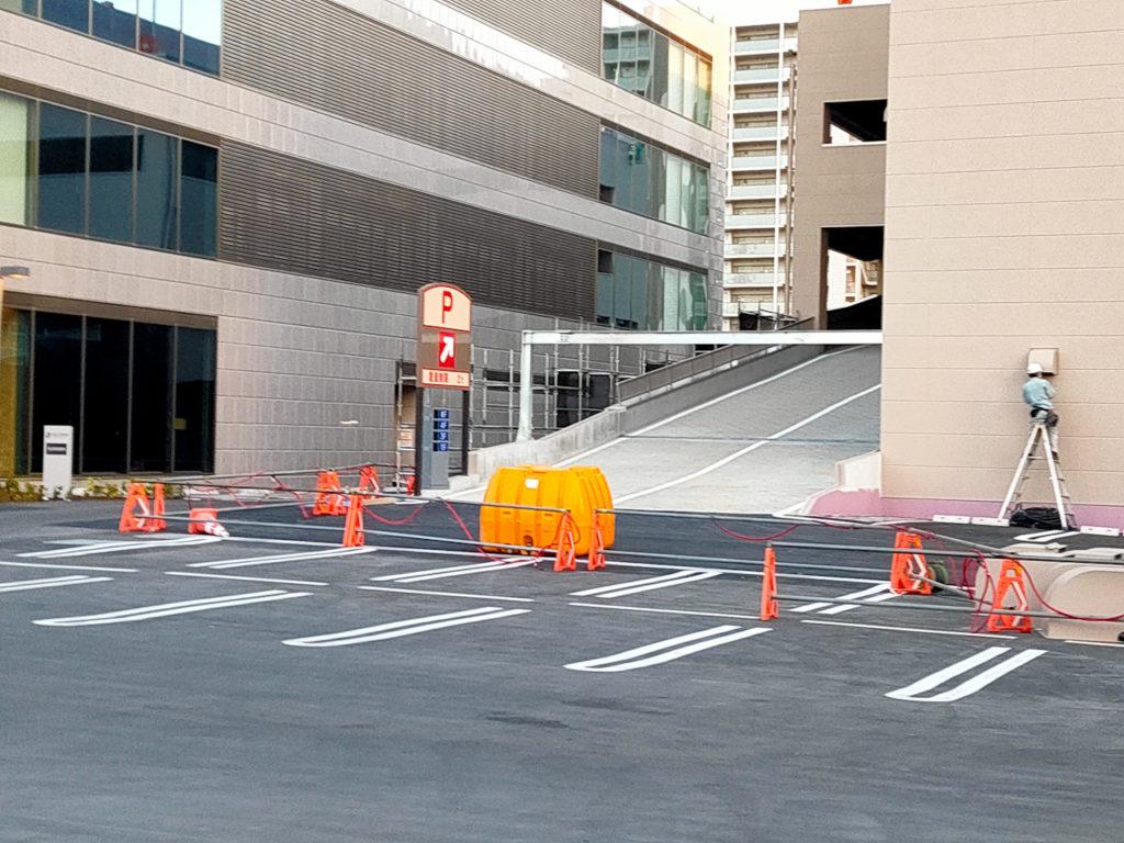 しまむら「さいたま新都心ファッションモール」駐車場