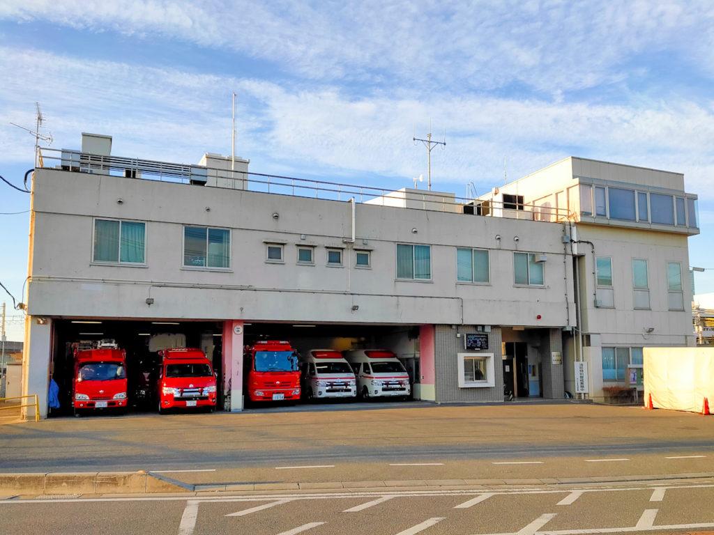 現在のさいたま市中央消防署