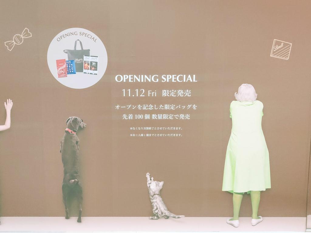 【2021年11月12日(金)開店】リンツ ショコラ ブティック&カフェ